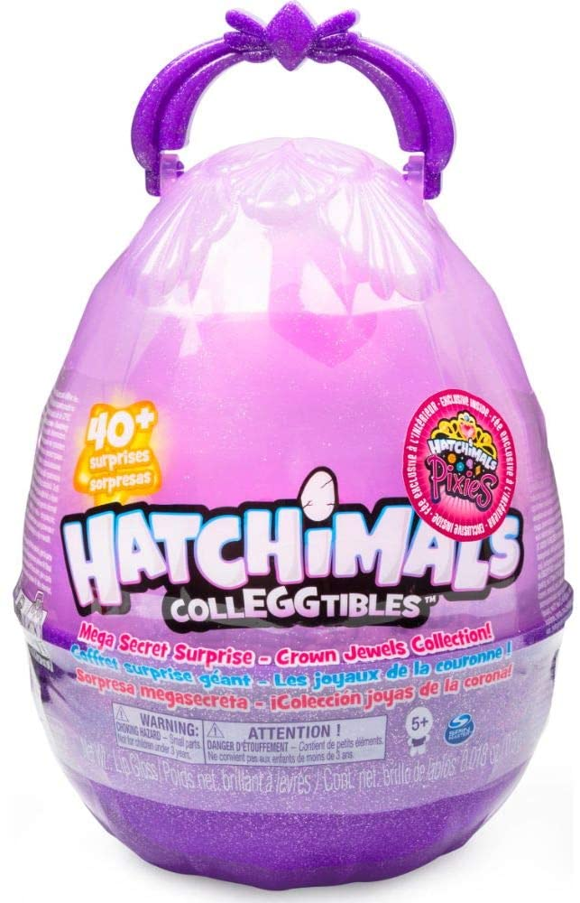Hatchimals à Collections- Hatchimals con 10 Hatchimals para coleccionar, 1 Hatchimals Pixies y Accesorios